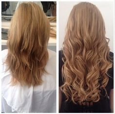 Ajout de cheveux ondulées