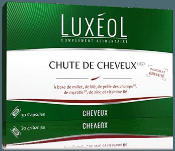 Luxeol, chute de cheveux